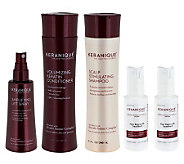 Keranique 5-Piece 60-Day Regrowth and Styling Kit - A239907