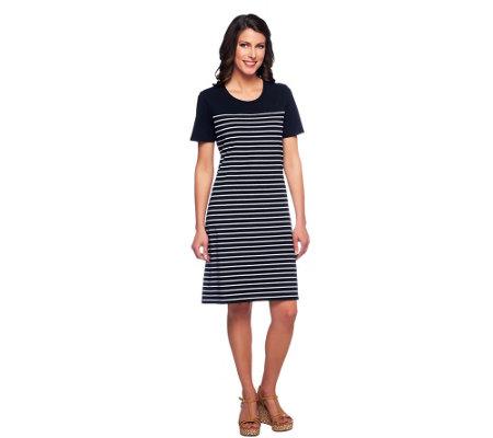 York Short Sleeve Striped
