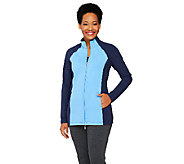 Denim & Co. Active Duo-Stretch Color-Block Jacket - A261807