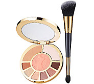 tarte Showstopper Clay Eye & Cheek Palette with Brush - A266407