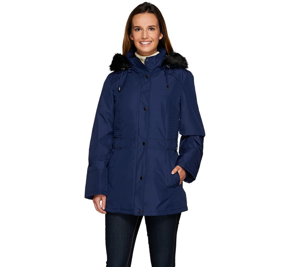 Susan Graver Convertible 4 in 1 Jacket with Reversible Velvet Vest ...