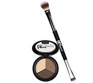 IT Cosmetics Pretty in Winter Eye Shadow Trio w/ No-Tug Brush - A270907