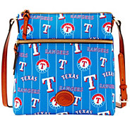 Dooney & Bourke MLB Nylon Rangers Crossbody - A281507