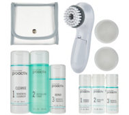 A-D Proactiv 3pc Acne System, Brush, Travel Kit Auto-Delivery