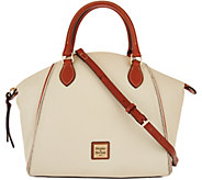 Dooney & Bourke Pebble Leather Satchel Handbag- Sydney - A293007