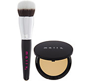 Mally Smooth Skin Perfecting Powder Foundation w/ Brush - A298407