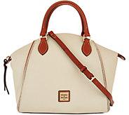 As Is Dooney & Bourke Pebble Leather Satchel Handbag - Sydney - A300907