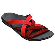 Spenco Orthotic Jari Stretch Slide Sandals - A333607
