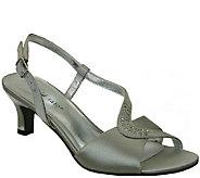 David Tate Satin Sandals - Cresent - A336907