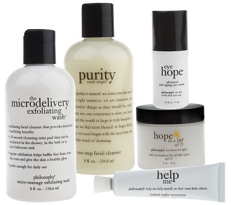 philosophy advanced make-up optional skincare set - Page 1 — QVC.com