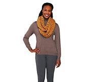 Layers by Lizden Marvelush Crochet Infinity Scarf - A226408