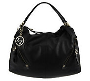 As Is MaxxNew York Nappa Leather Hobo - A228008