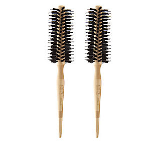 Product image of WEN by Chaz Dean Signature Boar Bristle Small Round Brush Duo