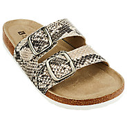 White Mountain Double Strap Slip-on Sandals - Helga - A263208