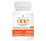Natures Code ONE 30-Count 30 Billion CFU Probiotic Supplement - A264308