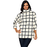 Susan Graver Weekend Printed Polar Fleece Pullover Top - A269308