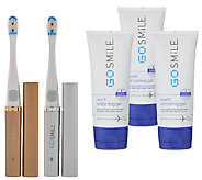 GO SMiLE Set of 2 On the Go Sonic Whitening Toothbrushes - A270508