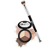 IT Cosmetics Pretty in Spring Luxe Shadow Trio w/ No-Tug Brush - A270908