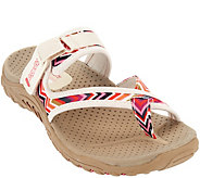 Skechers Thong Sandals with Adjustable Strap - Zig Swag - A276908