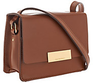 As Is Isaac Mizrahi Live! Whitney Mini Leather Shoulder Bag - A280208