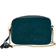 C. Wonder Pebble Leather and Suede Crossbody Handbag - A282208
