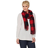 Denim & Co. Yarn Dye Plaid Scarf - A284708