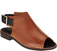 Clarks Somerset Leather Peep-toe Sandals - Cabaret Charm - A288108
