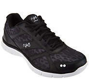 Ryka Leather and Mesh Lace-up Sneakers - Dream - A288608