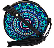 As Is orYANY Embroidered Canteen Bag - Naomi - A294708
