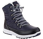 Khombu Waterproof Lace-up Ankle Boots - Alegra - A300308