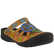 Spring Step LArtiste Leather Clogs - Bombay - A357108