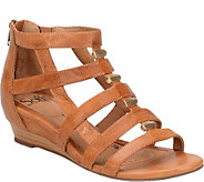 Sofft Leather Gladiator Sandals - Rio - A357608