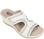 Cliffs by White Mountain Wedge Slide Sandals -Felina - A358108
