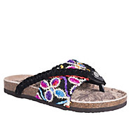 MUK LUKS Slide Sandals - Elaine - A365108
