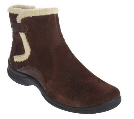 clarks bendables trixiebelle leather suede side zip
