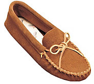 Minnetonka Mens Leather Laced Softsole Moccasins - A208709
