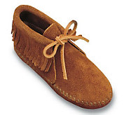 Minnetonka Childrens Classic Fringe Softsole Boots - A209209