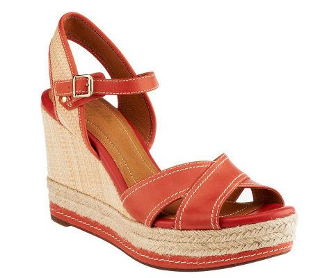 Clarks Artisan Amelia Air Leather Wedge Sandals Review