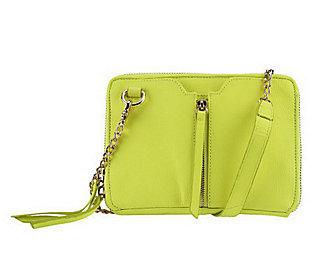 Kelsi Dagger Chelsea Pebble Grain Leather Convertible Crossbody Bag