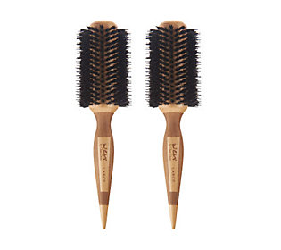 Product image of WEN by Chaz Dean Signature Boar Bristle Large Round Brush Duo
