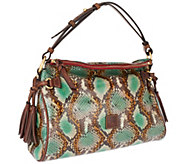 Dooney & Bourke Python Embossed Leather Hobo - A255909