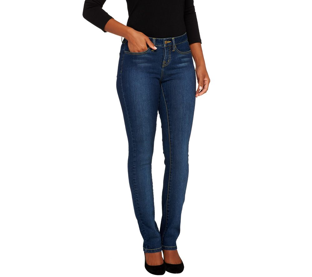 SkinnyJeans 2 Regular Slim Boot Cut Jeans - Page 1 — QVC.com