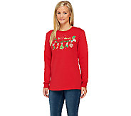 Quacker Factory Christmas Morning Sweatshirt - A259309
