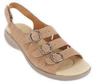 Clarks Leather or Nubuck Sandals - Saylie Medway - A261309