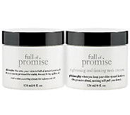 philosophy super-size full of promise face and neck duo - A262609