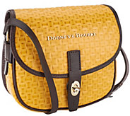 Dooney & Bourke Woven Embossed Leather Field Bag - A263609