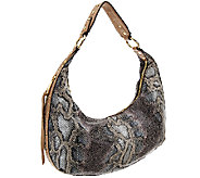 Aimee Kestenberg Half-Moon Pebble Leather Hobo - Jetta - A267409