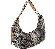 Aimee Kestenberg Half-moon Pebble Leather Hobo Jetta