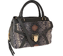 Aimee Kestenberg Pebble Leather Swagger Satchel - Savanah - A269109