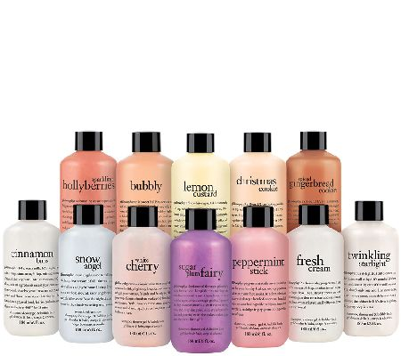 philosophy 12 days of christmas 12pc shower gel collection - A272309